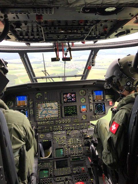 Cockpit Superpuma